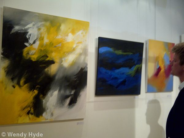 Work in Exhib., at Parallax Art Fair London