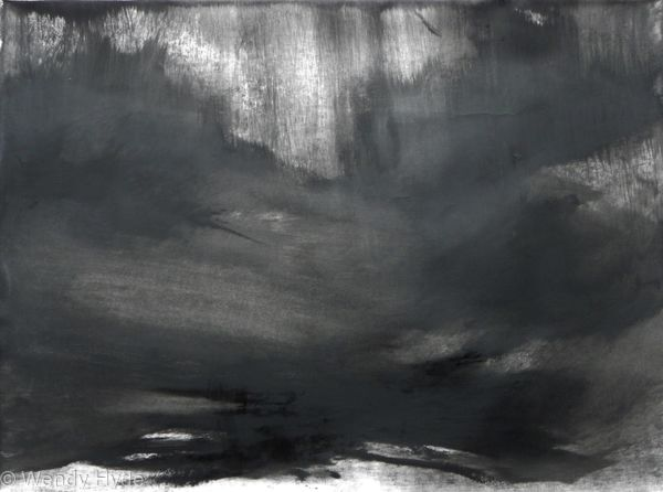 Abstraction in Monochrome Light in the Darkness 5