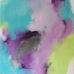 Summer Series Softly - Softly Lime, Lilac and Turquoise.