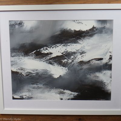 Abstraction in Monochrome study 21