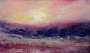 Sunset, Sheepscombe