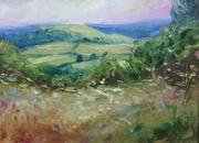 Swifts Hill from Slad