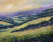 Crickley sunset