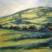 Shadows and sheep, Winchcombe