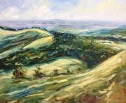 Painswick Beacon towards May Hill