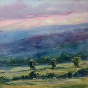 Painswick, sunset