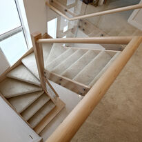 Contemporary Stair viewed from above
