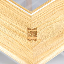 Games Table - Butterfly through wedged tenon joint