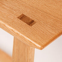 Through Wedged Tenon Detail