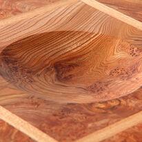 Pythagoras Burr Elm Bowl Detail