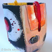 Sturdy red drip vessel 2009