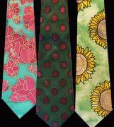 Silk Ties hand painted