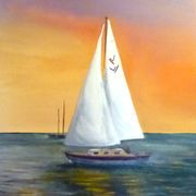 David sailing