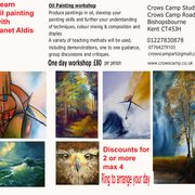 Painting workshops ad