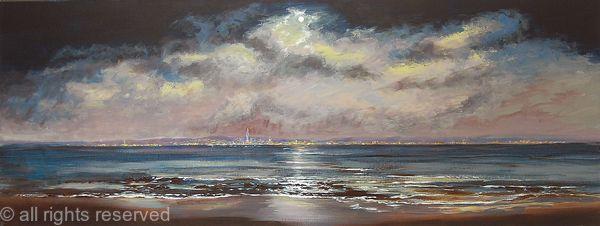 Moonlight over Portsmouth