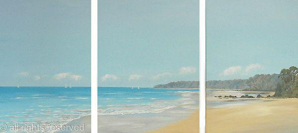 Low Tide Triptych