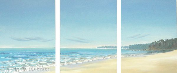 Incoming Tide Triptych