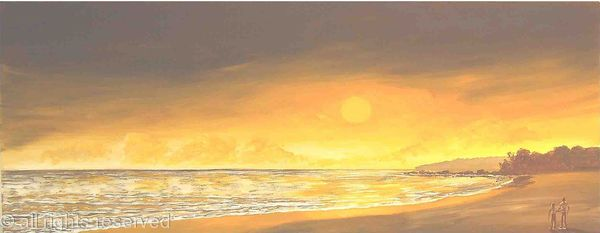 Chocolate Sunset Beach