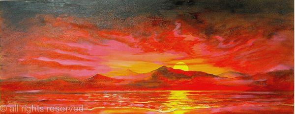 Krakotoa Sunset