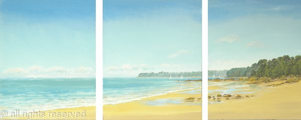 New Summer Triptych