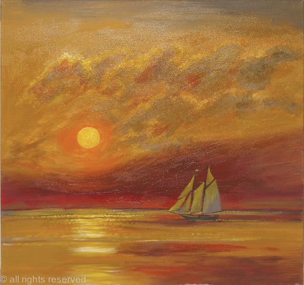 Golden Galleon Sunset
