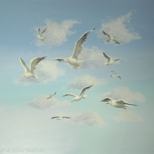 Seagulls in the Sky 2