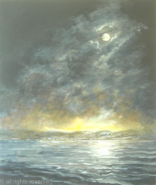 Sailing Home by Moonlight