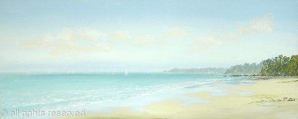 Distant Sails from Bembridge