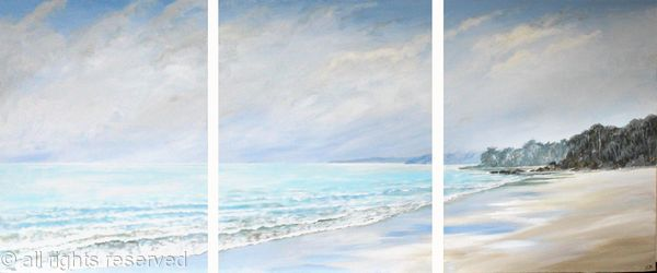 Winter Peace Triptych