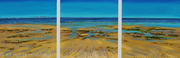 Coastal Colours Triptych