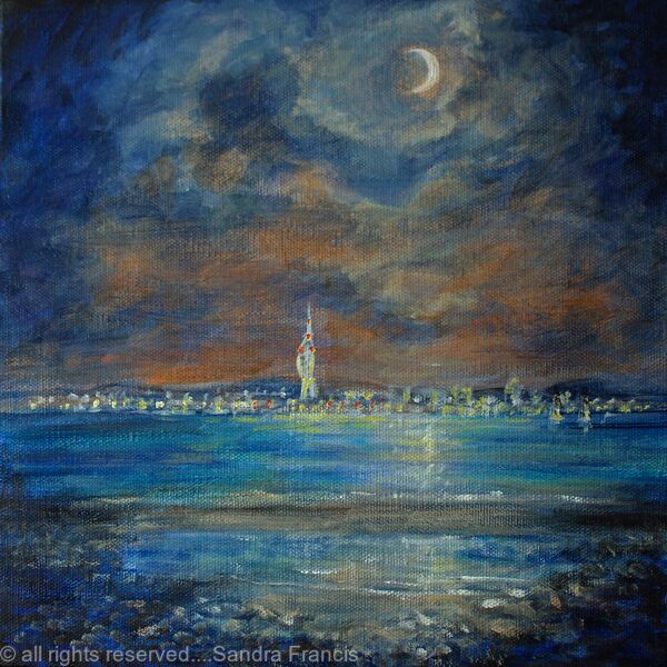 Sea City by Moonlight