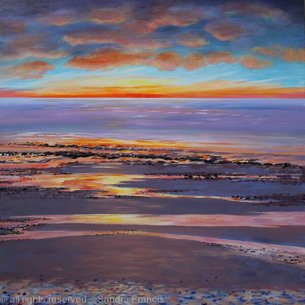 Sunset Beach Glow