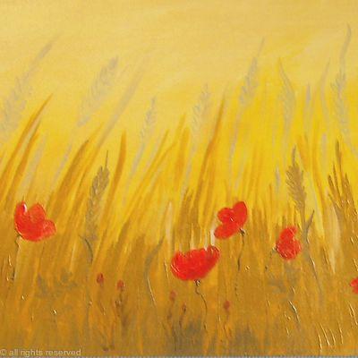 Gold Poppy Field