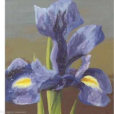 Irises Triptych