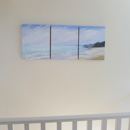 Winter Peace Triptych in situ