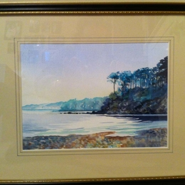 watercolour seascape commission