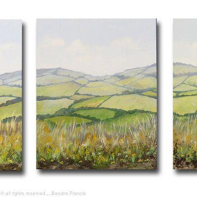 Springtime Triptych