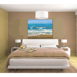 Waves Painting in a room