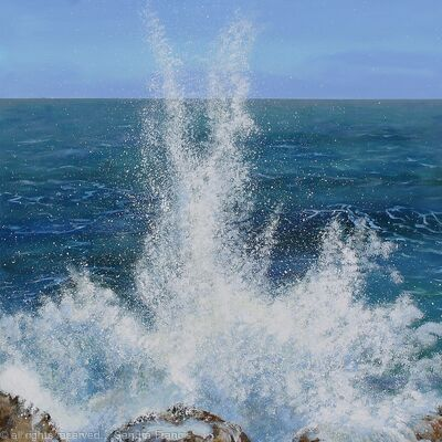 Sea Spray on the Rocks