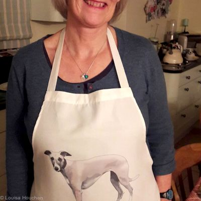 Apron (featuring Your pet's pawtrait)