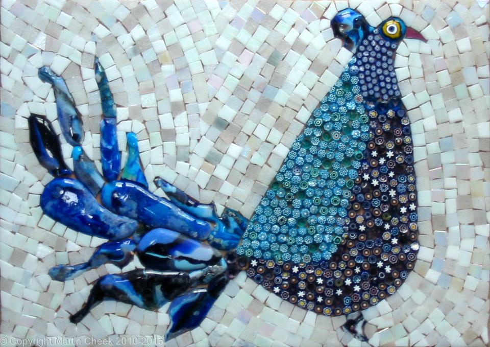 Blue Fusion Pheasant