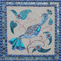 iznik peacock