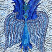 Blue Angel Bird