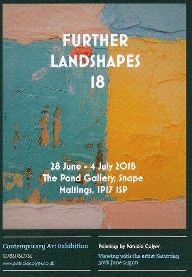 Further Landshapes Exhibition Invite