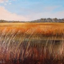 Across the Marshes (Sold)