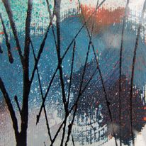 Mini Reed Painting