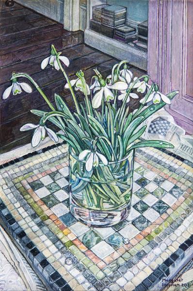 'Snowdrops in a Plain Glass Tumbler'