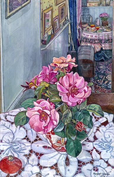 'Roses in a Turkish Teapot'