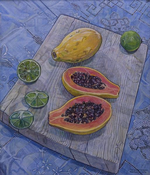 'Paw Paw and Limes for Breakfast'