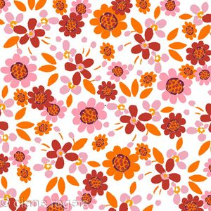 childs-pink-orange-floral